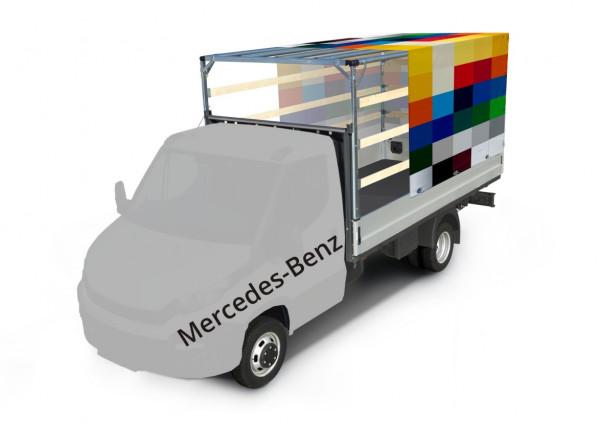 Plane mit Spriegel für Mercedes-Benz