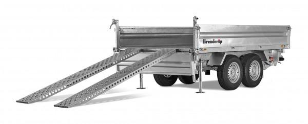 Auffahrschienensatz Stahl für 3-Seiten-Kipper