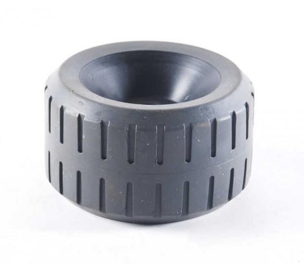 Ersatzrolle für Seitenstützen grau