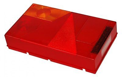 Lichtscheibe für Rückleuchte rechts ohne Rückfahrleuchte