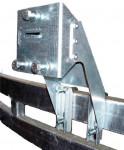Ersatzradhalter für Brenderup Bootstrailer