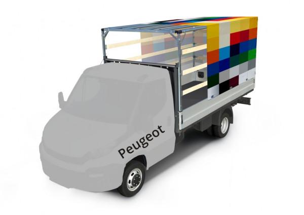 Plane mit Spriegel für Peugeot