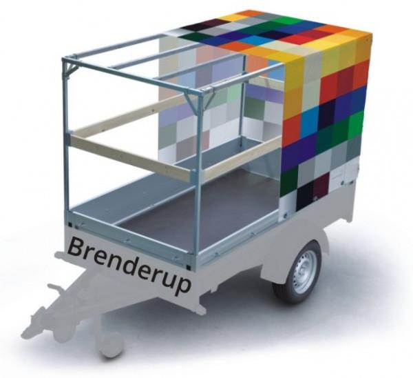 Plane mit Spriegel für Brenderup
