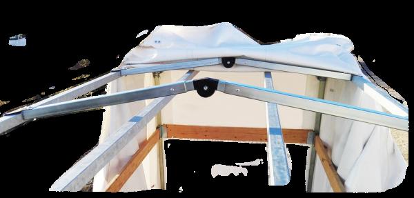 Verstellbare Giebelstrebe 1100-1290 mm