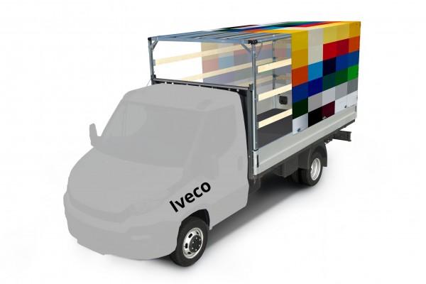 Plane mit Spriegel für Iveco