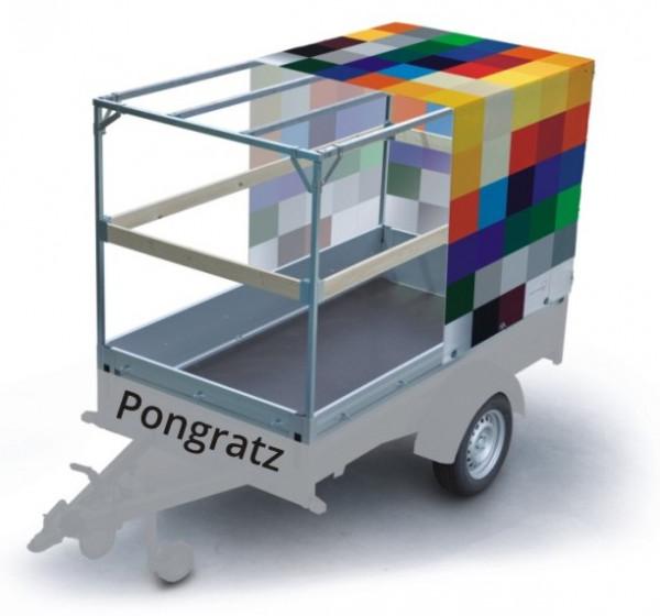 Plane mit Spriegel für Pongratz