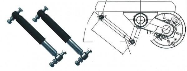 Stoßdämpferanbausatz für eine Achse 1800/3500kg
