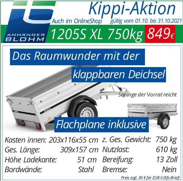 1205S XL UB 750 Kippi