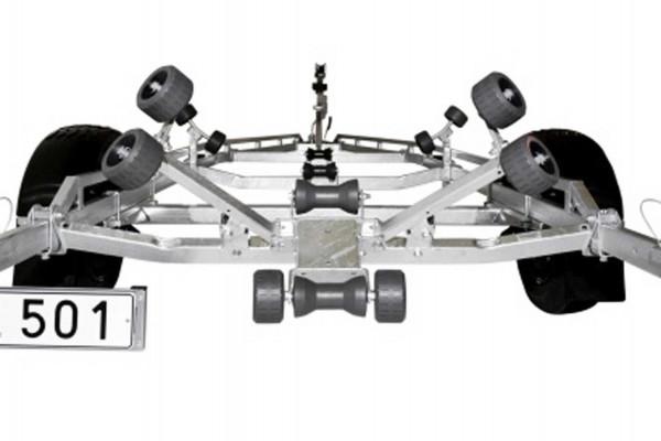 Cradle-System selbsteinstellende Sliphilfe für Montage vorne