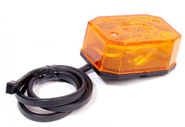 Positionsleuchte gelb mit DC-Kabel